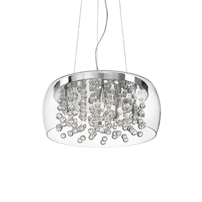 Pendant lamp AUDI-80 SP8 Transparent