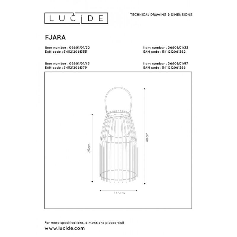 Table lamp FJARA