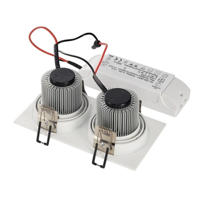 Recessed lamp NEW TRIA 155 LED 3000K