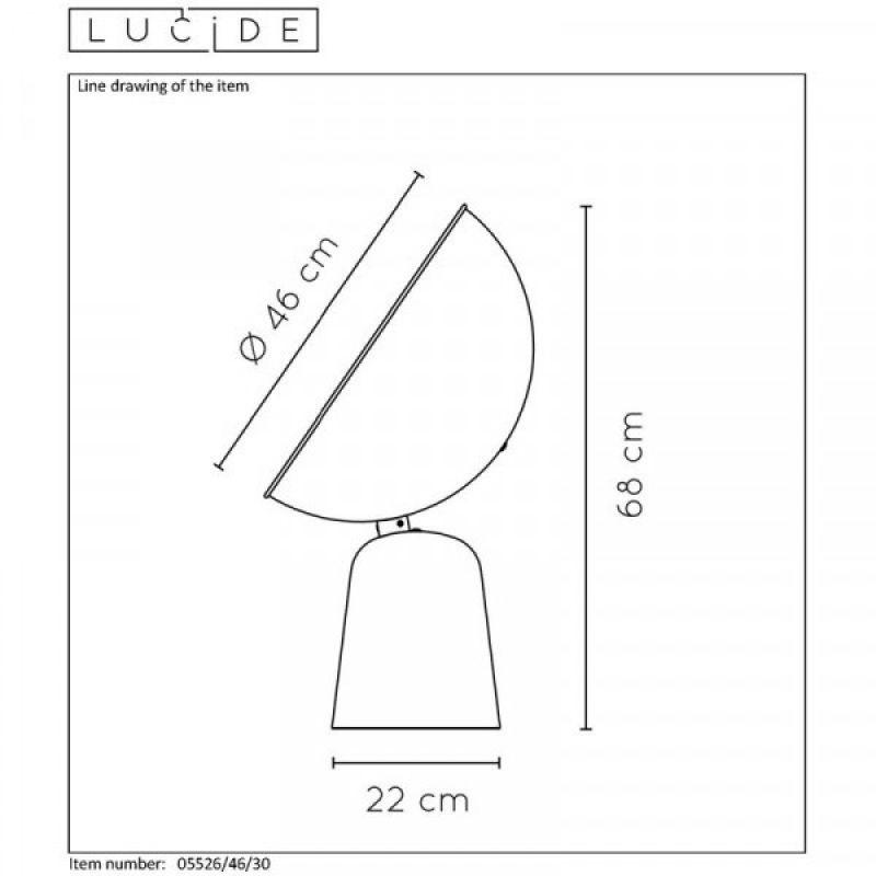 Table lamp VIDOR