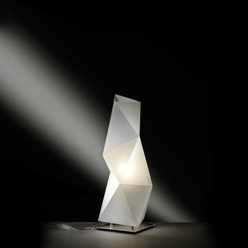 Table lamp DIAMOND Small White