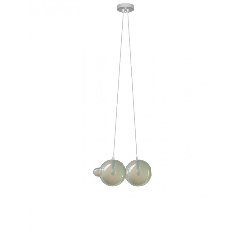 Pendant lamp PENDULUM 2 POSITION LIGHT GREY