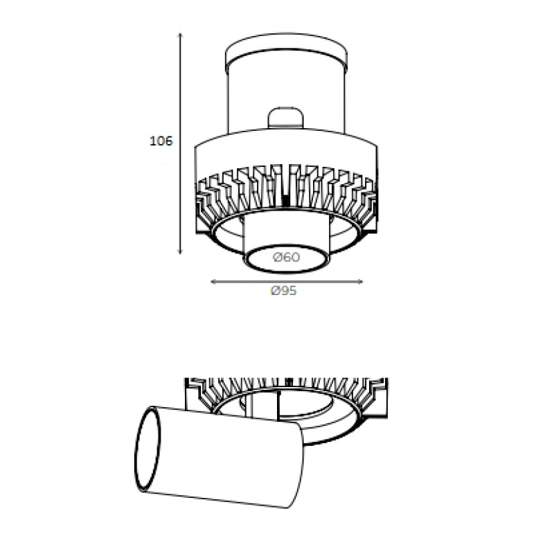 Downlight lamp MARTORELL TRIM