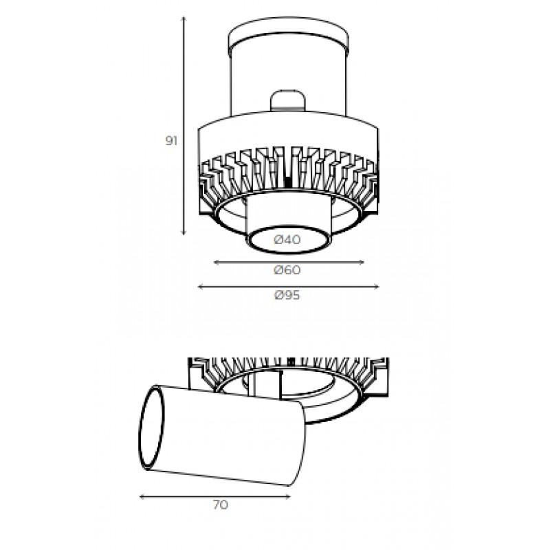 Downlight lamp MINI MARTORELL