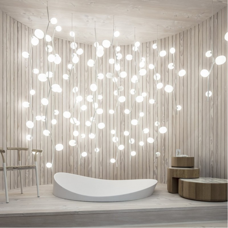 Pendant lamp IVY VERTICAL 1285