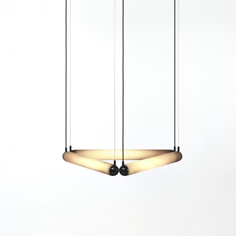 Pendant lamp PURO CONTOUR TRIANGLE 600