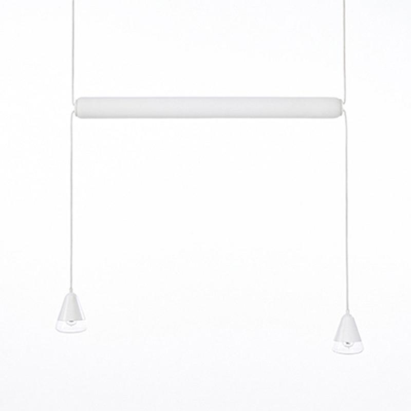 Pendant lamp PURO SINGLE HORIZONTAL 1000