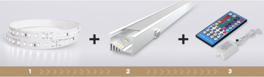 Led strips and profiles