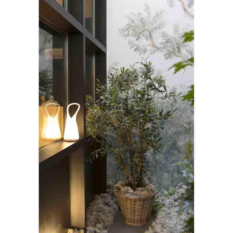Garden lamp BOO White