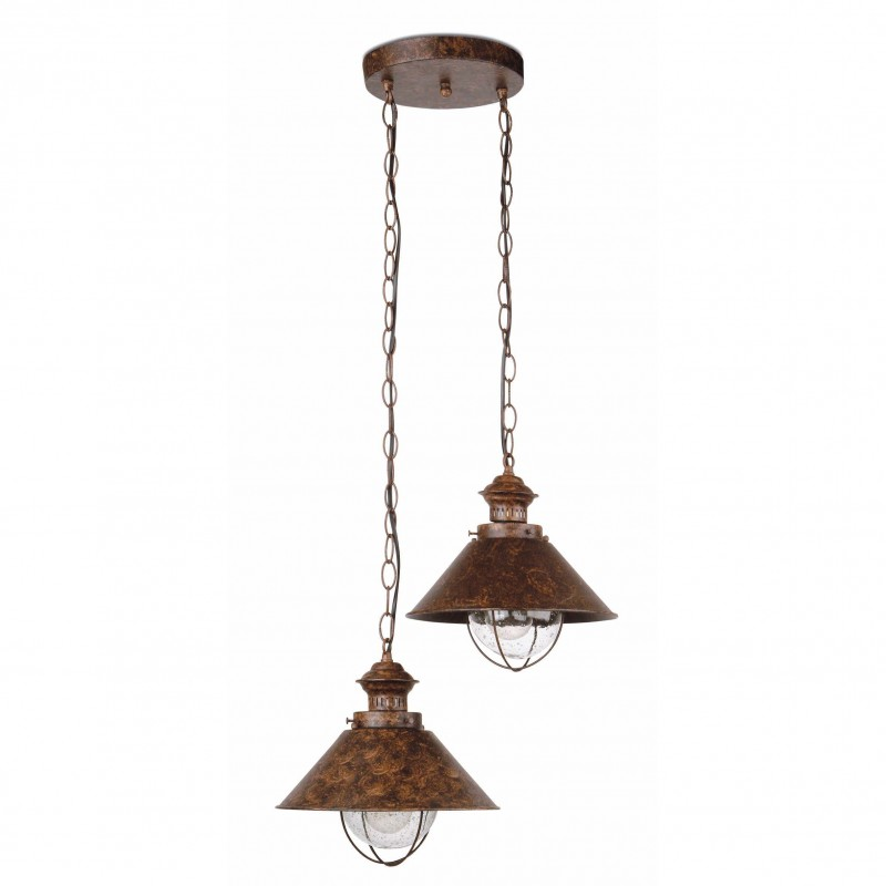 Pendant lamp NAUTICA Rust Brown