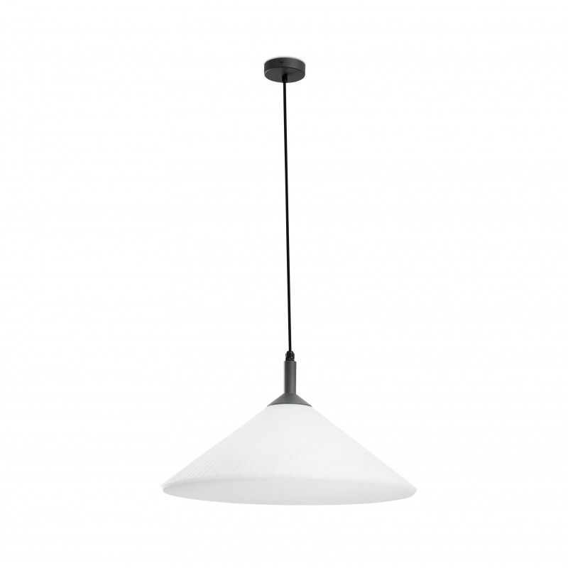 Pendant lamp HUE Grey + White