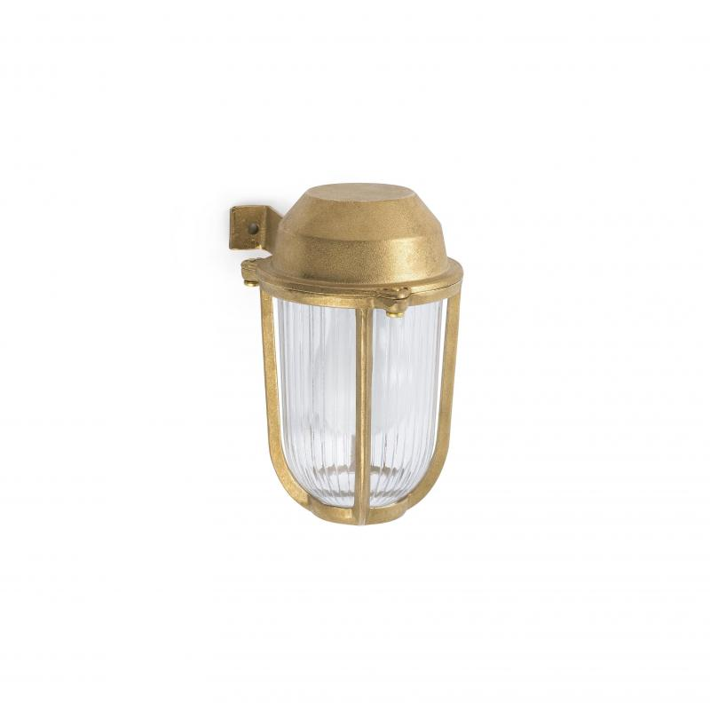 Wall lamp BORDA Brass