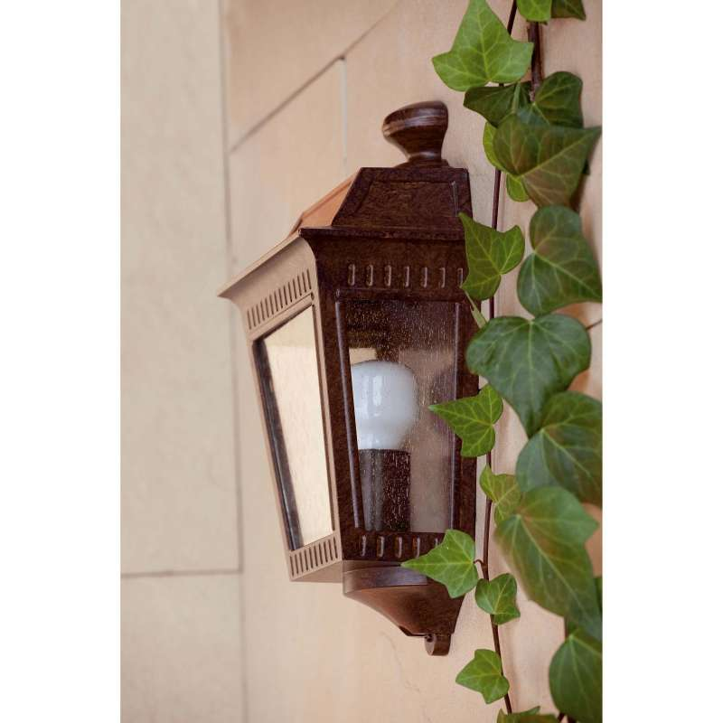 Wall lamp ARGOT Rust Brown