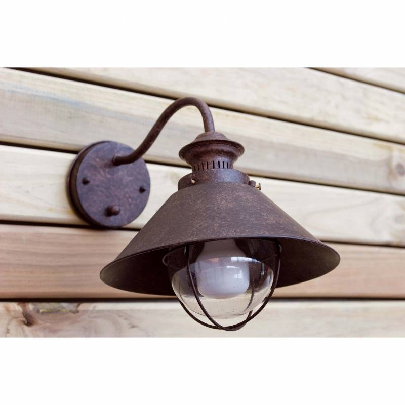 Wall lamp NAUTICA Rust Brown