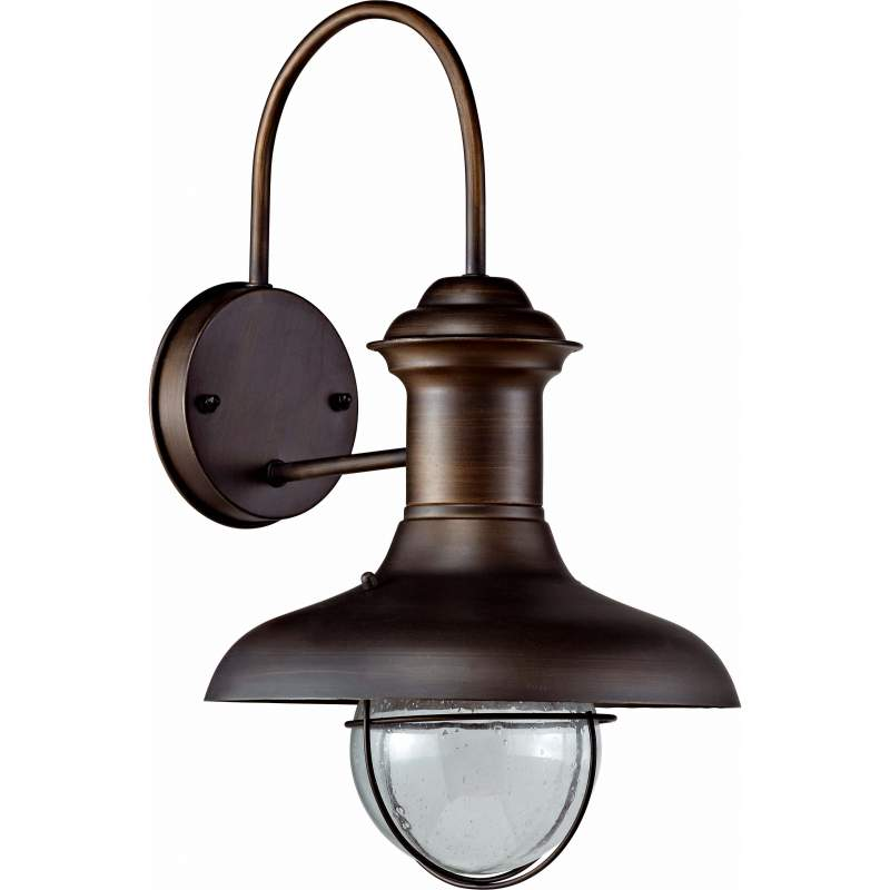 Wall lamp ESTORIL Rust Brown