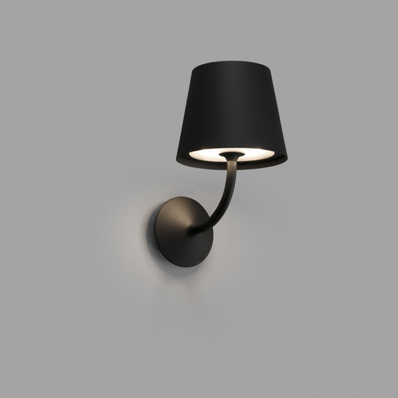 Wall lamp TOC Black