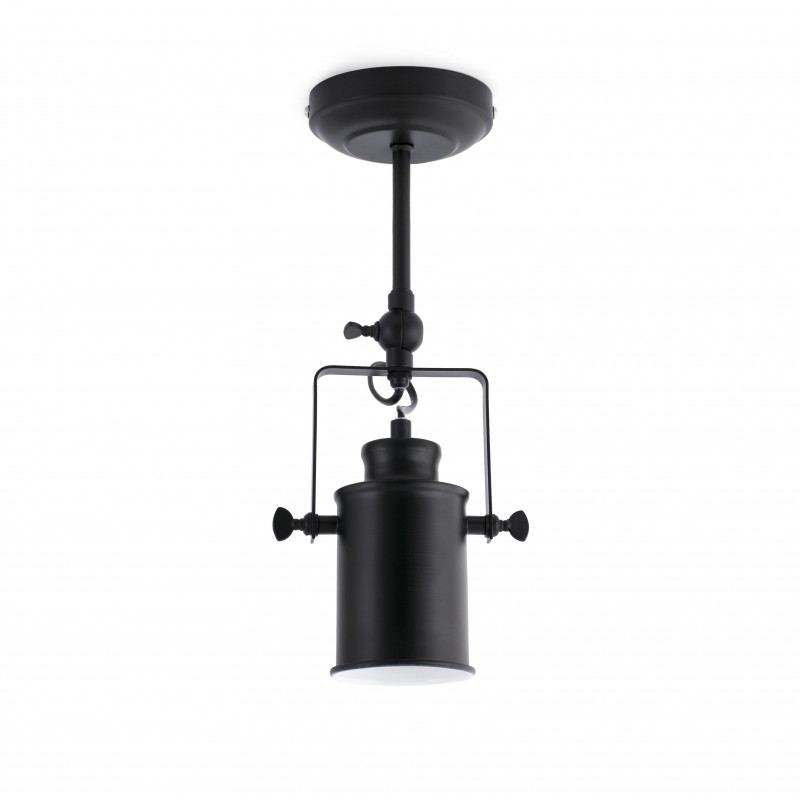 Ceiling-wall lamp LIST Black