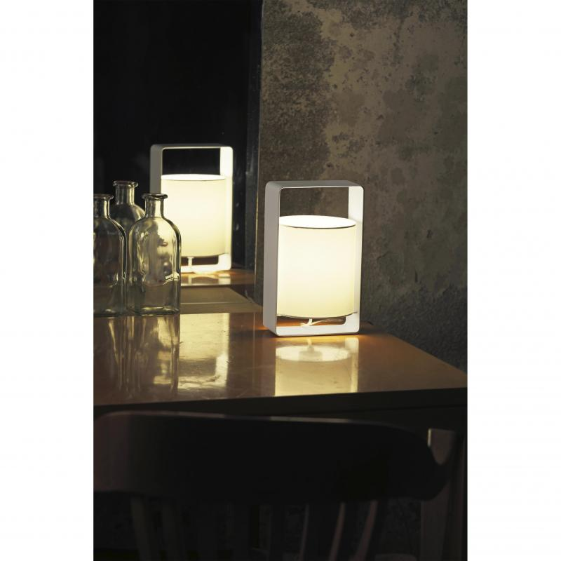 Table lamp LULA-P black and white