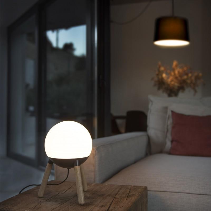 Galda lampa MINE Grey