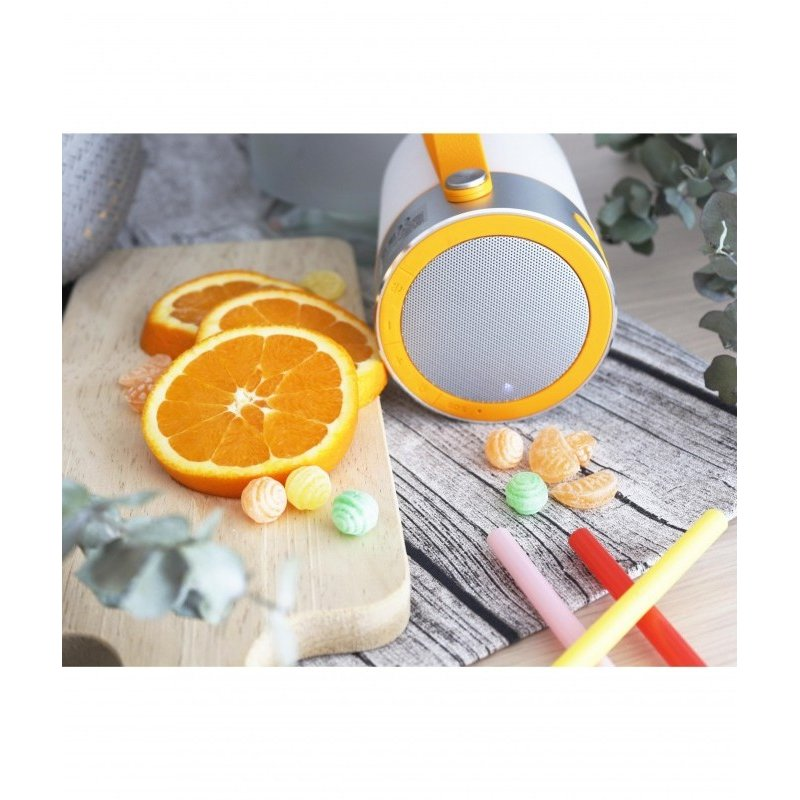 Garden lamp LOUD White+orange