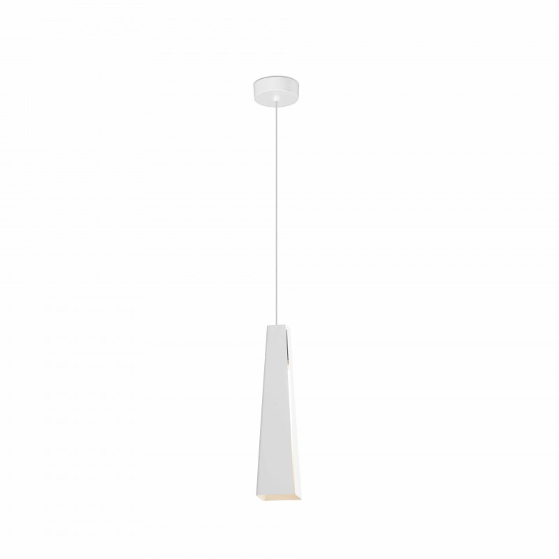 Pendant lamp PLUMA LED White