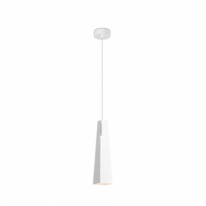 Pendant lamp PLUMA LED White