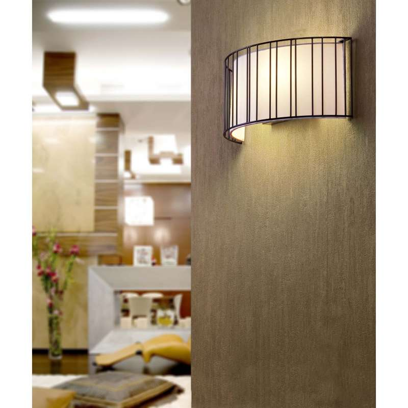 Wall lamp LINDA Black