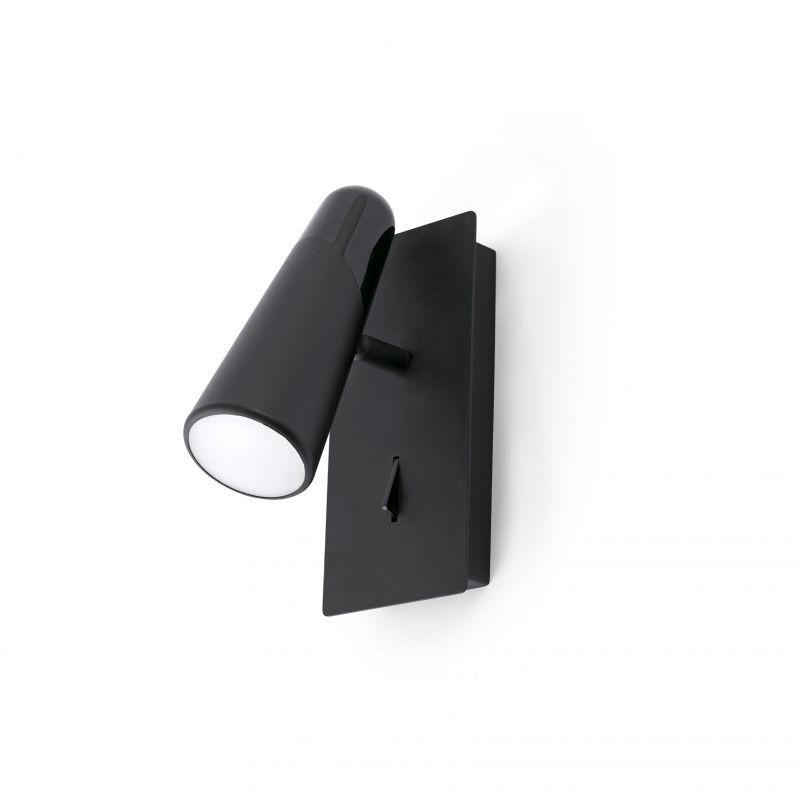 Wall lamp LAO LED Black 1L