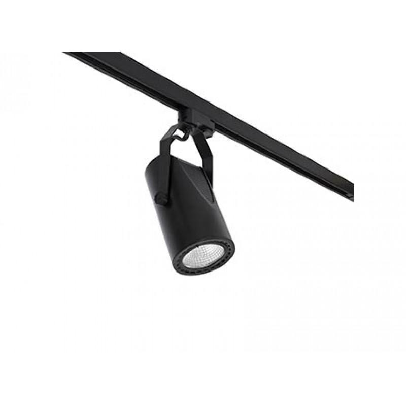 Sliežu sistēmas apgaismojums MINI-SIGMA Black