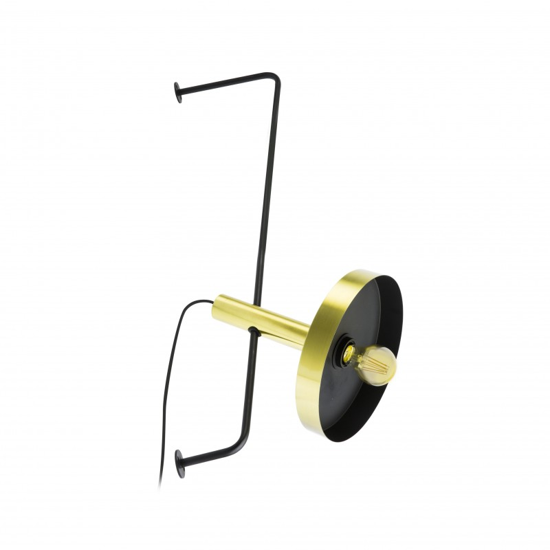 Stand WHIZZ Black and satin gold
