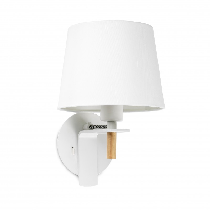 Wall lamp Fusta White