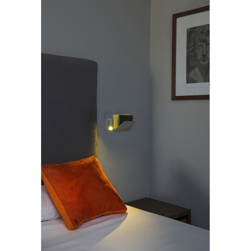 Wall lamp SUAU USB Grey