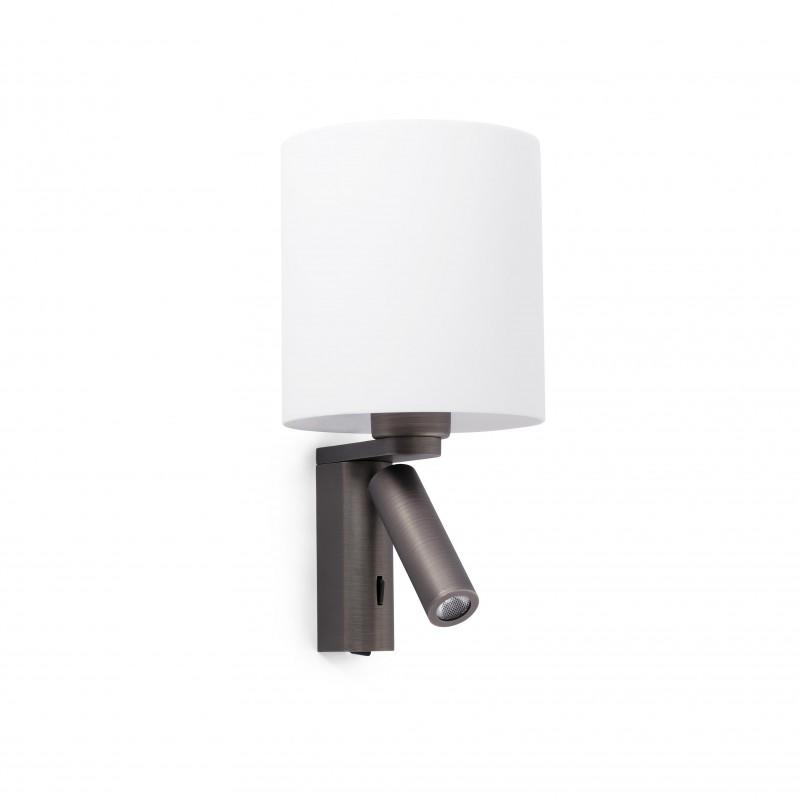 Wall lamp ROB Matt nickel