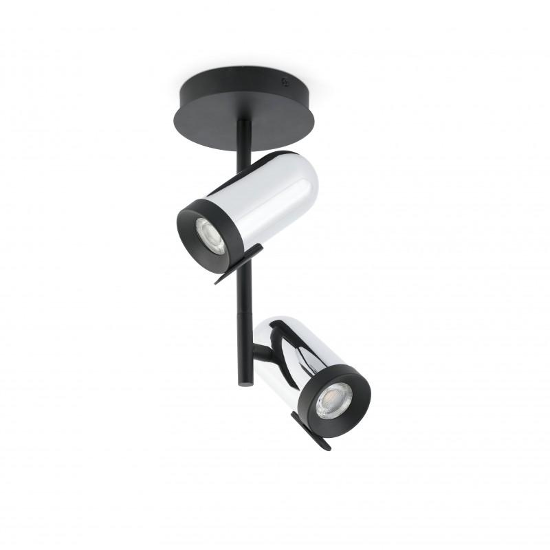 Ceiling lamp ORLEANS Black 2L