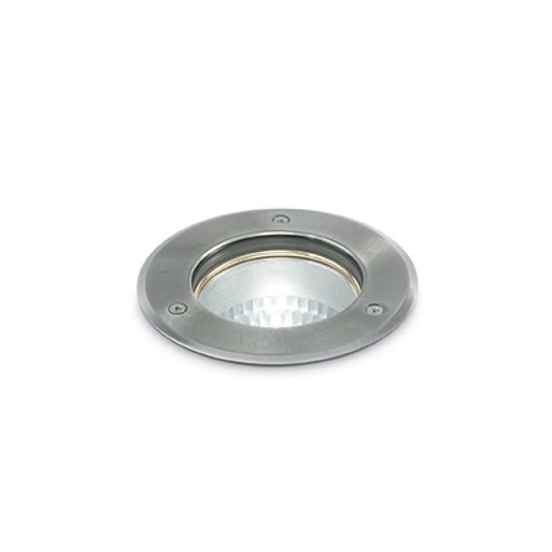Downlight lamp PARK PT1 Round Small Nickel
