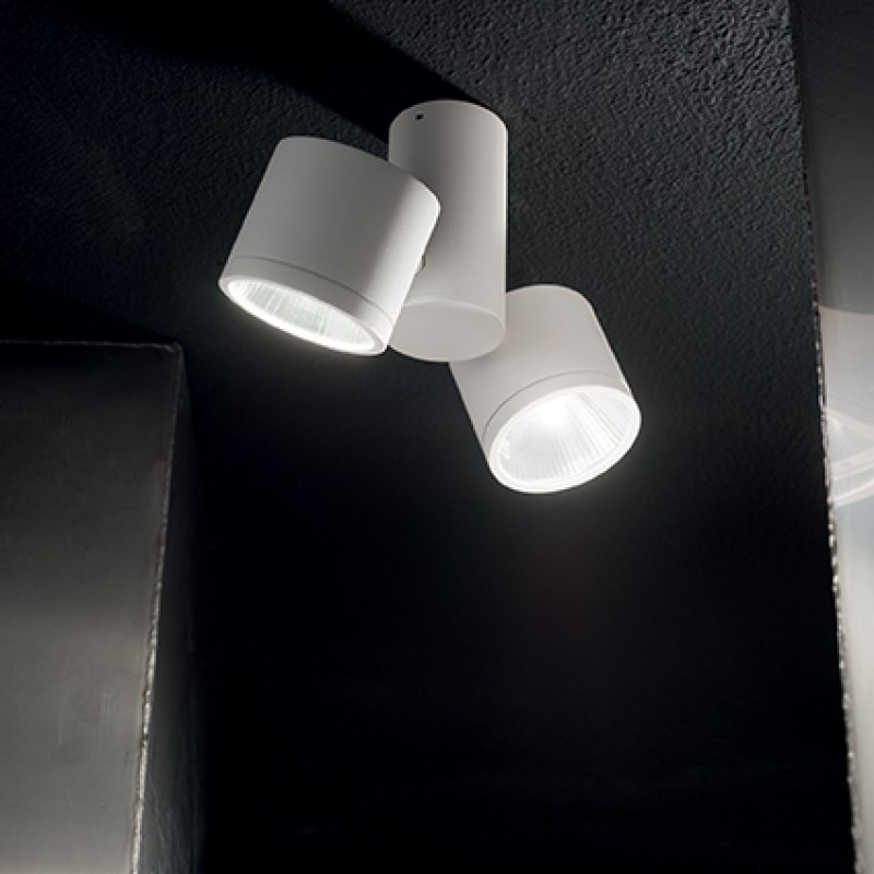 Ceiling-wall lamp SUNGLASSES PL White