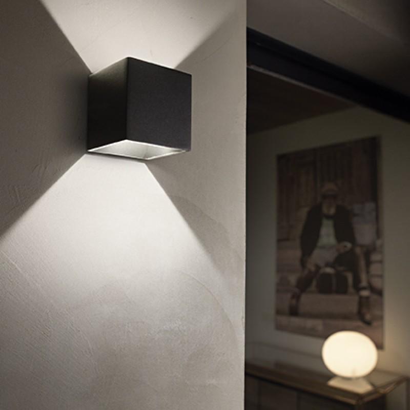 Ceiling-wall lamp RUBIK AP1 D10 ANTRACITE