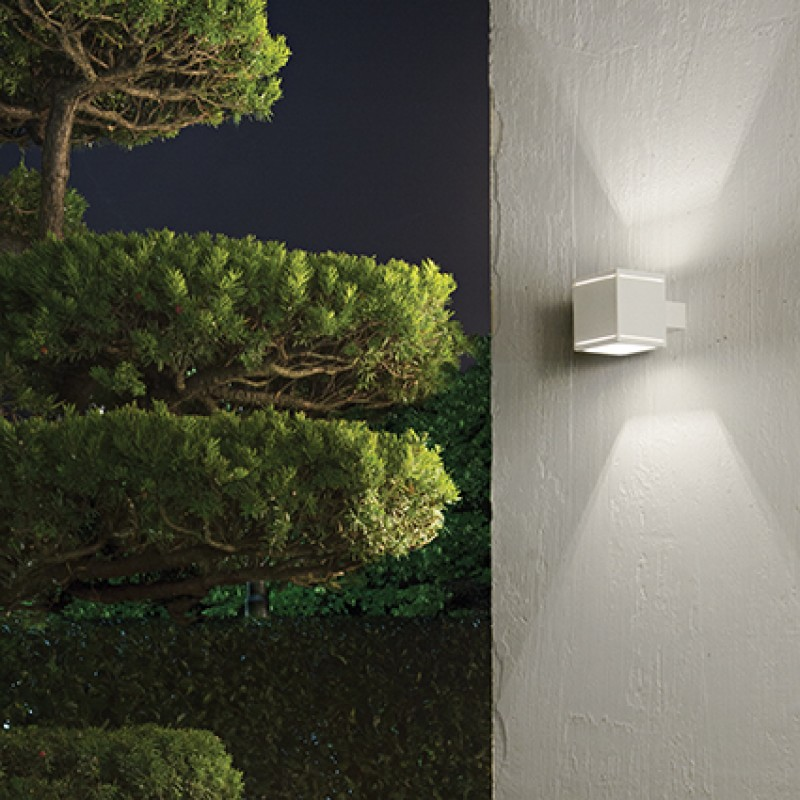 Ceiling-wall lamp SNIF SQUARE AP1 White