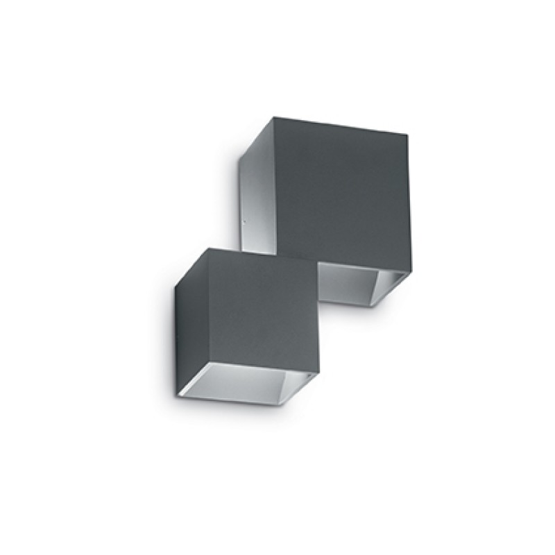 Ceiling-wall lamp RUBIK AP2 Black