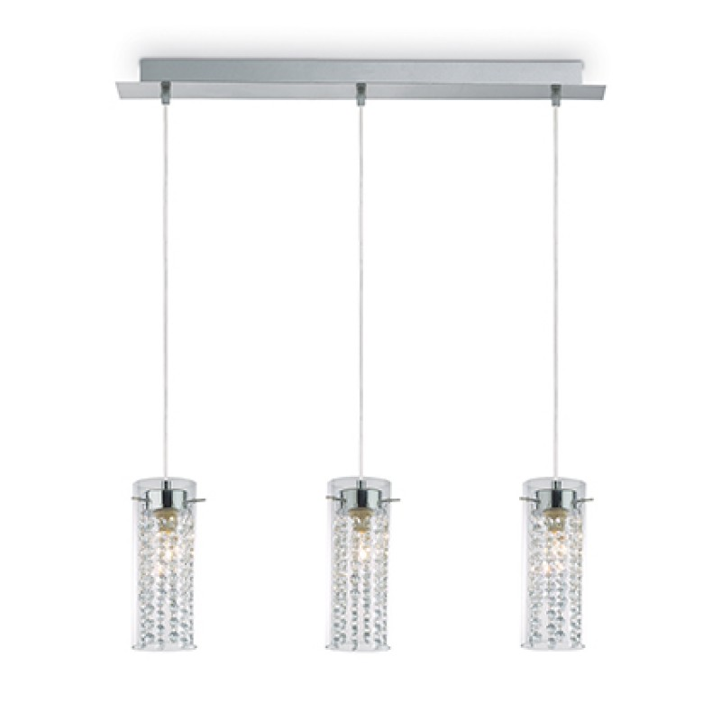 Pendant lamp IGUAZU SP3 Chrome