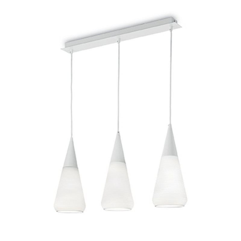 Pendant lamp WAVE SP3 White