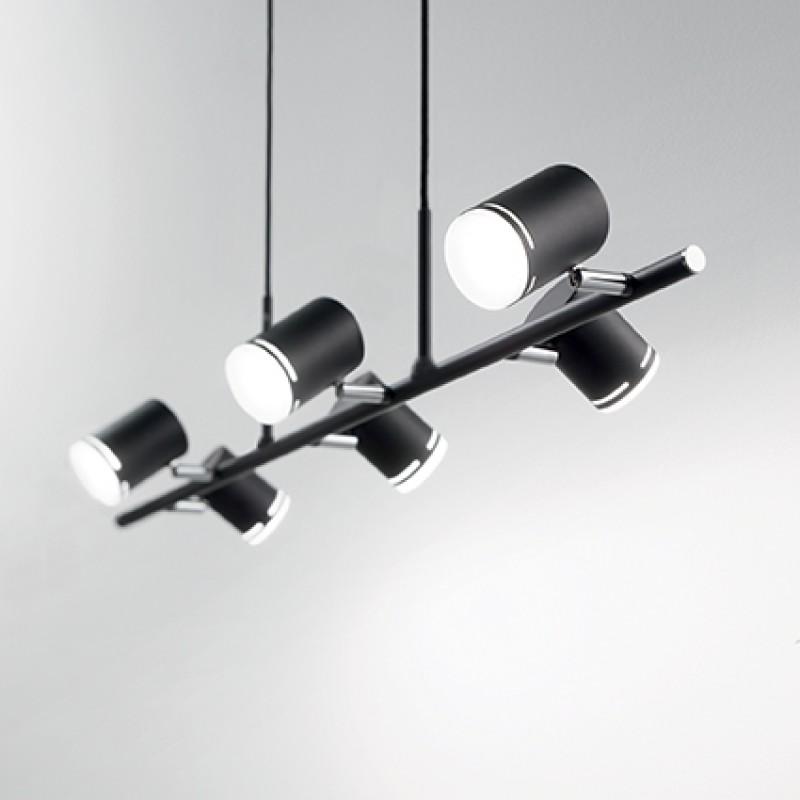 Pendant lamp SHOTS SP6 Black