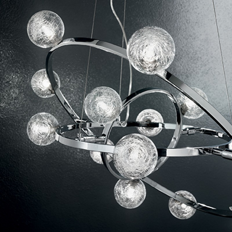 Pendant lamp ORBITAL SP10 Chrome