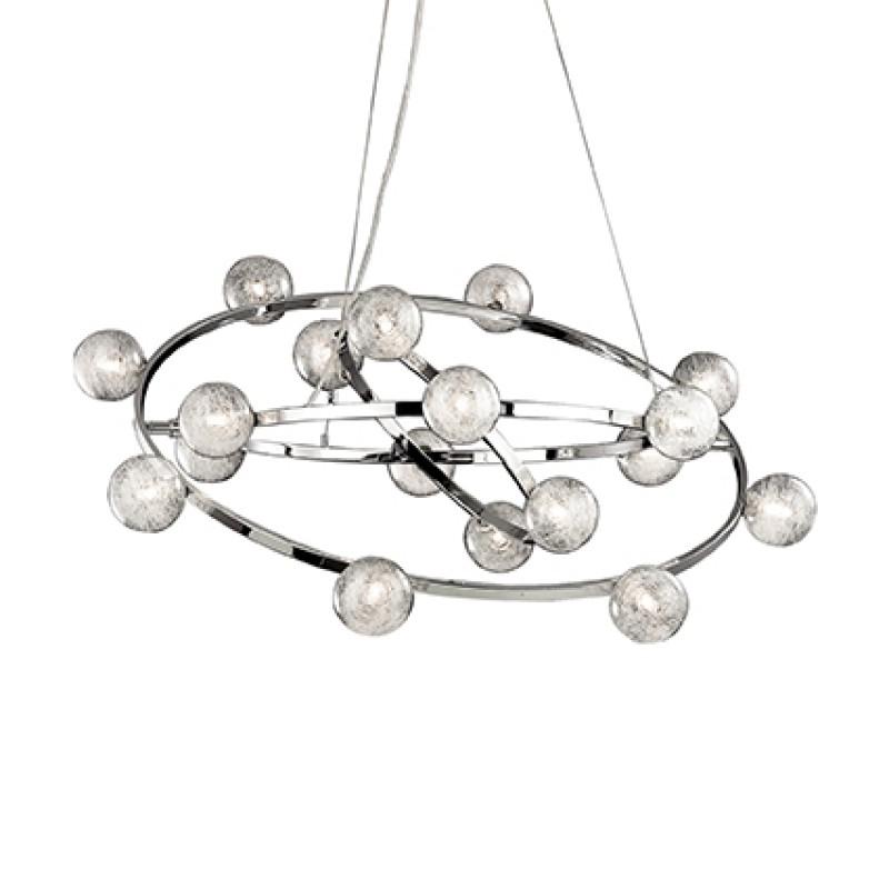 Pendant lamp ORBITAL SP10 Chrome