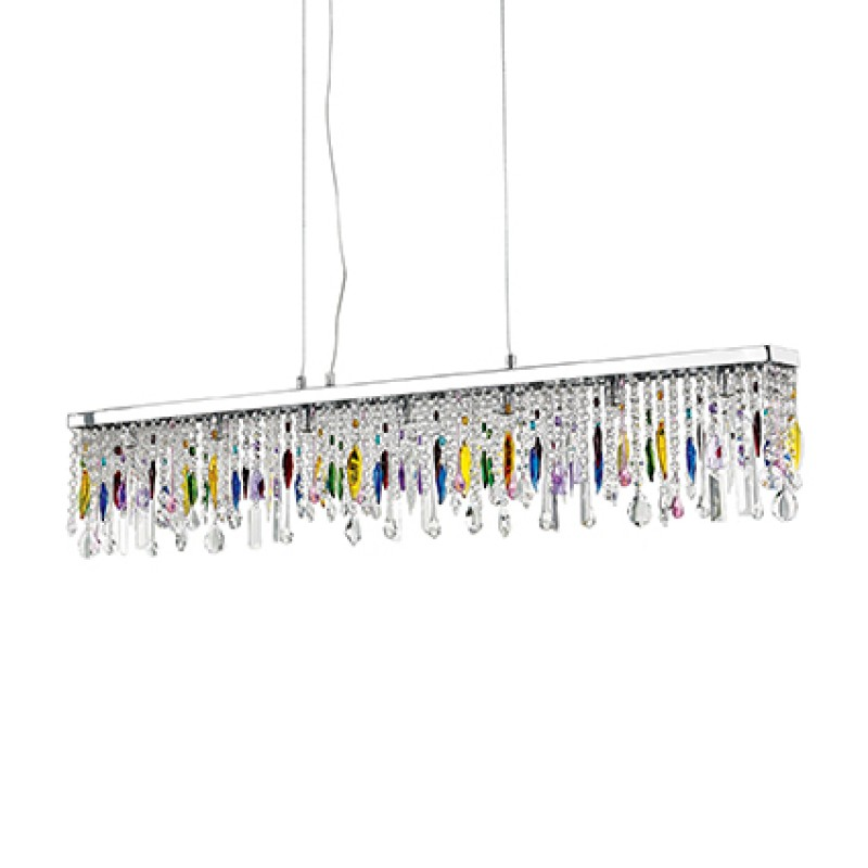 Pendant lamp GIADA COLOR SP7 Chrome