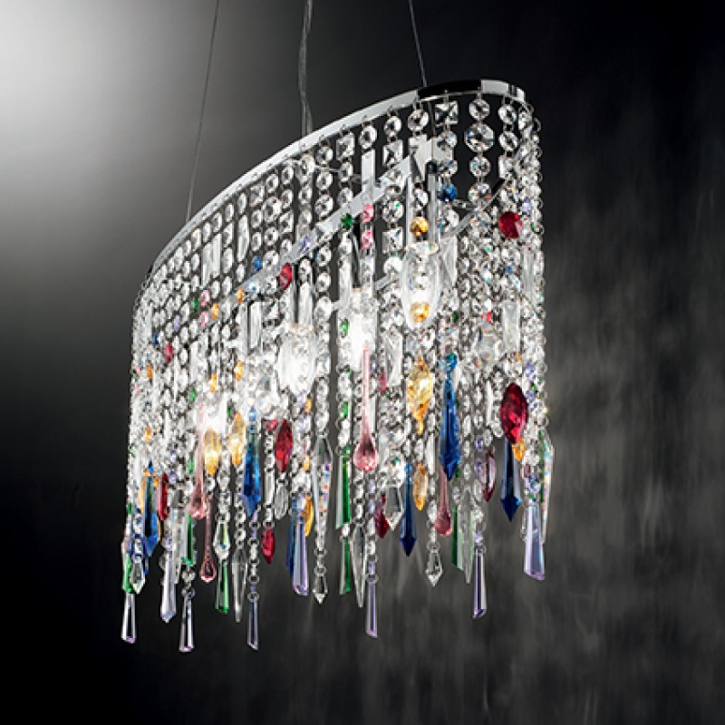 Pendant lamp RAIN COLOR SP5 Chrome