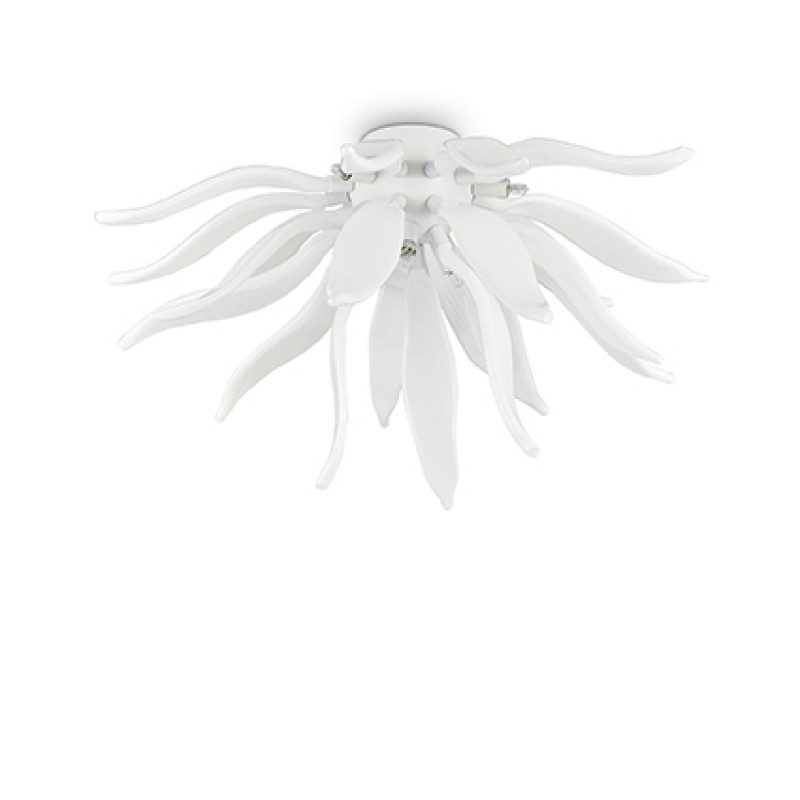 Ceiling lamp LEAVES PL6 White