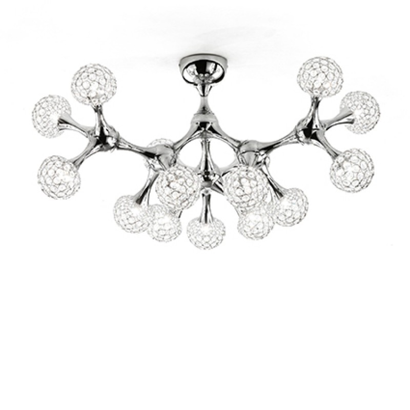 Ceiling lamp NODI CRYSTAL PL15 Chrome