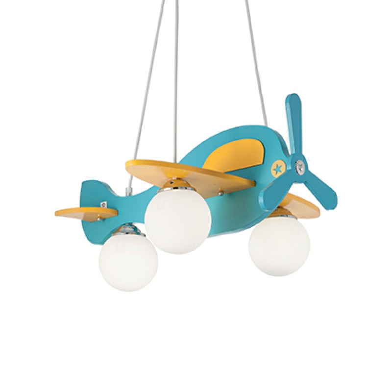 Pendant lamp AVION-1 SP3 Polichrome