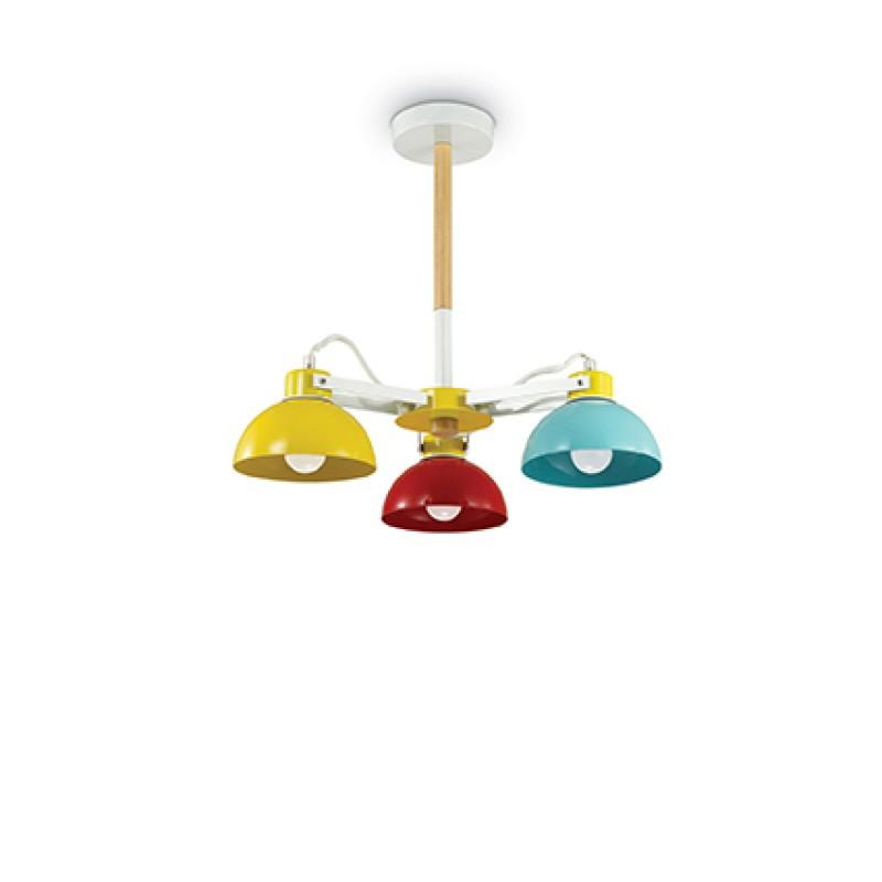 Pendant lamp TITTI PL3 Multicolore